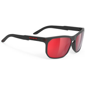 Rudy Project Soundrise Brille black matte/polar 3fx hdr multilaser red